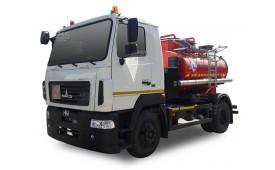 Топливозаправщик KrASZ-M4СВТ5 (на шасси МАЗ 4381N2), 5 куб.м.